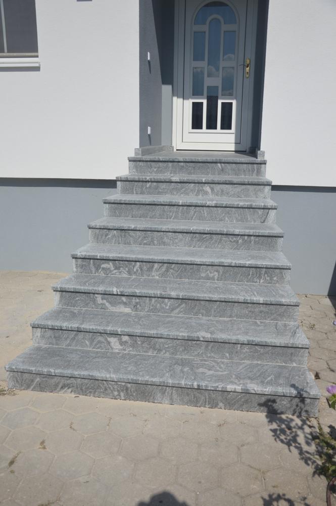 Wiscount White, Oberfläche sandgestrahlt