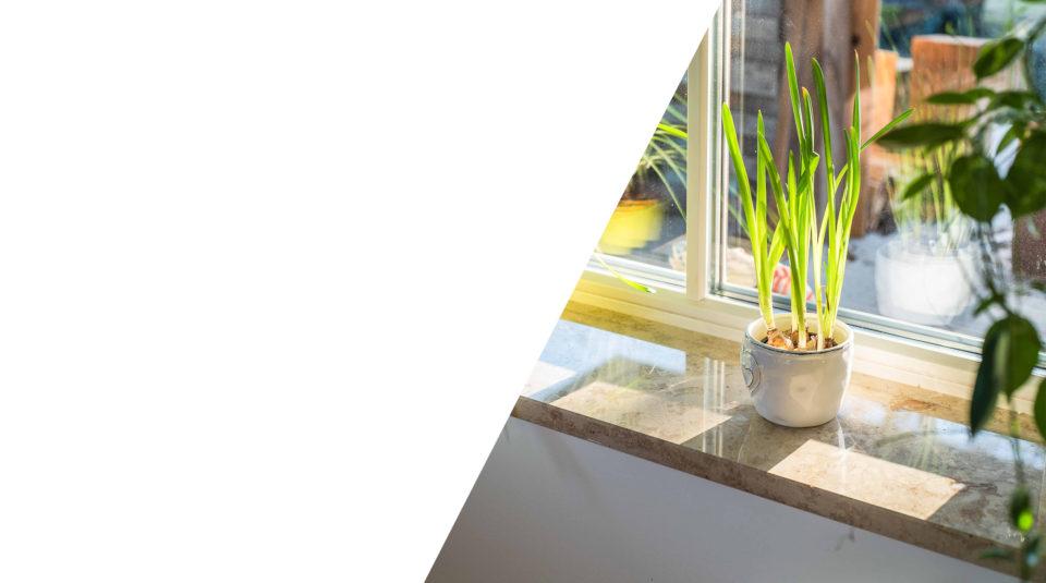 Fensterbänke und Mauerabdeckungen