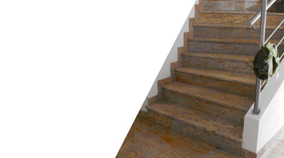 Külső-belső lépcsők, térburkolatok